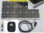 PACK PLUS Panel Solar 110W ESSENTIAL Regulador MPPT KIT PEGADO