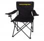 silla de camping plegable con portavasos